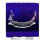 Buuick 8 Grille Shower Curtain
