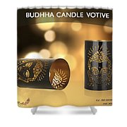 Buy Attractive Buddha Candle Votive From Rustik Craft  Shower Curtain