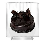 Buy Delicious Cake Online And Send It To Indore Shower Curtain