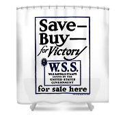 Buy For Victory Shower Curtain