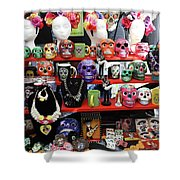 Buy From Me Day Of The Dead  Shower Curtain