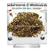 Buy Herbal Incense In Great Number At Wholesale Prices Shower Curtain