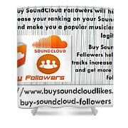 Buy Soundcloud Followers For Audience Attention- Buysoundcloudlikes Shower Curtain