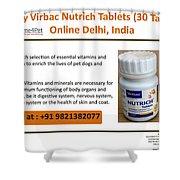 Buy Virbac Nutrich Tablets Online, Delhi, India Shower Curtain