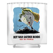 Buy War Savings Bonds Shower Curtain