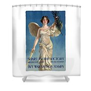 Buy War Savings Stamps Shower Curtain