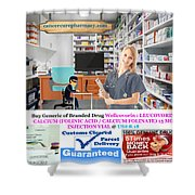 Buy Wellcovorin Shower Curtain