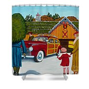 Buying The Tree Shower Curtain