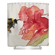 Buzz Bee Shower Curtain
