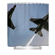 Buzz The Crowd Shower Curtain