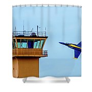 Buzz The Tower Shower Curtain