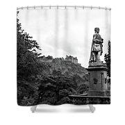 Bw Edinburgh Scotland  Shower Curtain