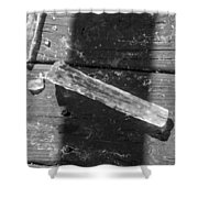 Bw Fallen Icicle Shower Curtain