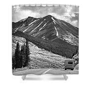 Bw Mobile Home Travel Alaska  Shower Curtain