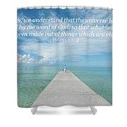 By Faith Shower Curtain