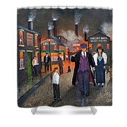 By Order Of The Peaky Blinders Shower Curtain by Ken Wood