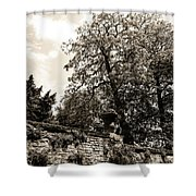 By The Canal Shower Curtain