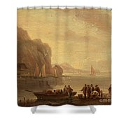 By The Coast Shower Curtain
