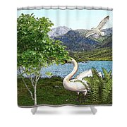 By The Lake 5 Shower Curtain