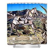 By The Rocks Shower Curtain