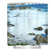By The Sad Sea Waves Shower Curtain