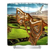 By The Sea 25 Shower Curtain
