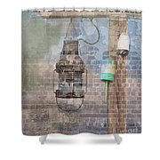 By The Sea In Color Shower Curtain