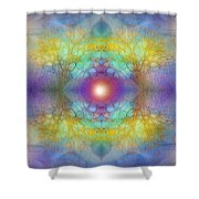 By The Tarnished Light Of The Moon Shower Curtain