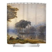 By The Waters Of Babylon Shower Curtain