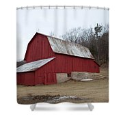 By The Woods Shower Curtain
