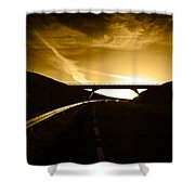 Bye Pass Around Waterford City, County Shower Curtain