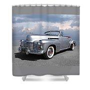 Bygone Era - 1941 Cadillac Convertible Shower Curtain