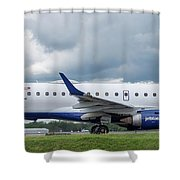 Byo Blue Shower Curtain