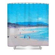 Byron Bay Beach Morning Shower Curtain