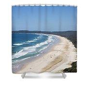 Byron Bay Tallow Beach, Australia Shower Curtain