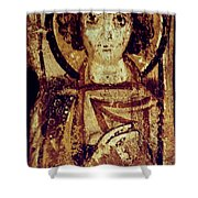 Byzantine Icon Shower Curtain