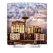 Bzar Seattl E Shower Curtain