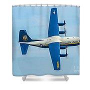 C-130 Fat Albert Shower Curtain