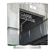 C - Mine Shower Curtain