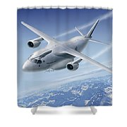 C390 Shower Curtain
