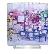 C4 Shower Curtain