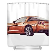 C6 Shower Curtain