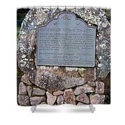 Ca-779 Rockville Stone Chapel Shower Curtain