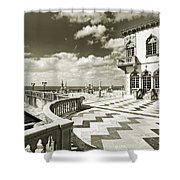 Ca D'zan Mansion Shower Curtain