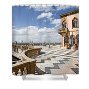 Ca D'zan Mansion Sarasota Shower Curtain