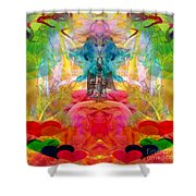 Ca-the-na-goddess-mohave Shower Curtain