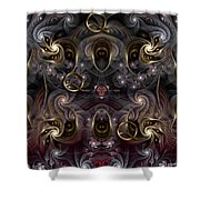 Cabalistic Symmetry Of Q Shower Curtain