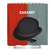 Cabaret - Alternative Movie Poster Shower Curtain