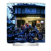 Cabbage Patch Bikers Bar Shower Curtain