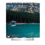 Cabin At The Lake, Shower Curtain